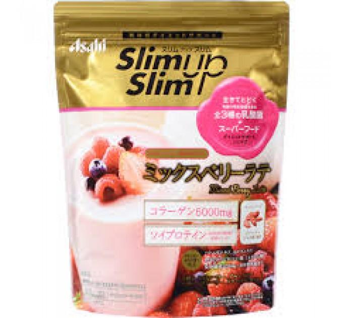 Коктейль с коллагеном и витаминами Asahi SlimUp Slim Вкус: ягодный микс (315 гр)