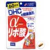 DHC Альфа-липоевая кислота для похудения, на 60 дней