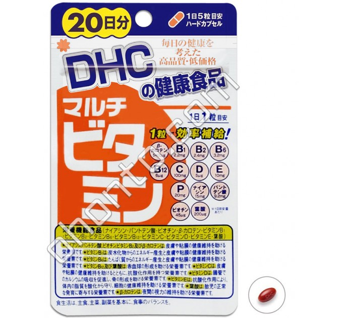DHC Мультивитамины, на 20 дней
