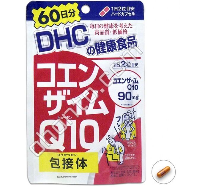 DHC Коэнзим Q10 для молодости и здоровья, на 60 дней