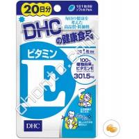 DHC Натуральны витамин Е для красоты и молодости, (на 20 дней)
