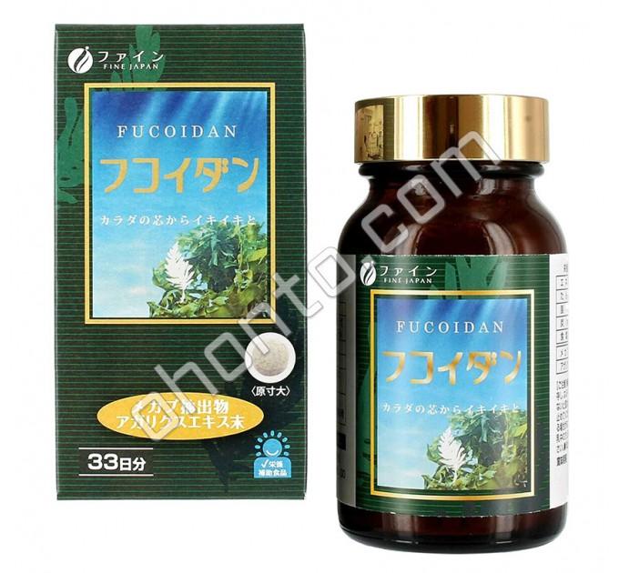 Fine Japan Фукоидан для укрепления иммунитета, на 30 дней