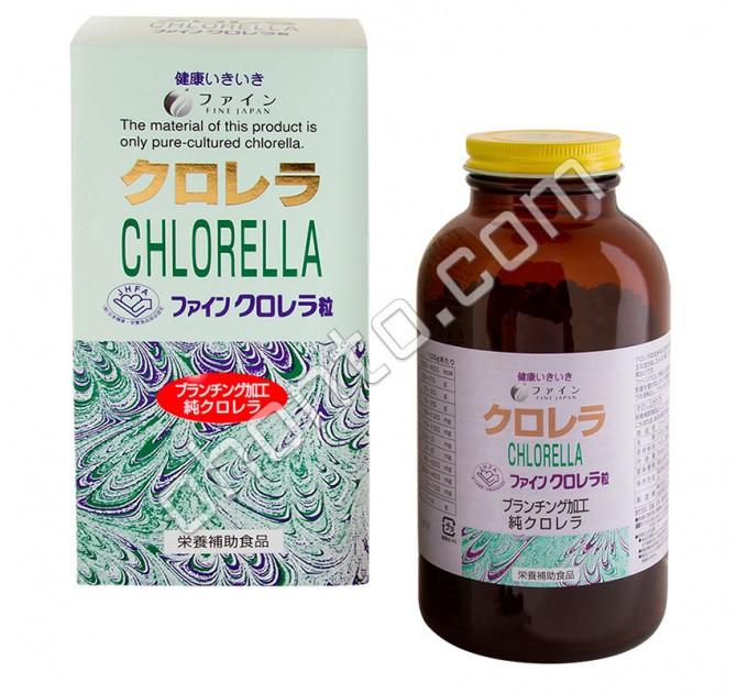 Fine Japan Хлорелла, для очистки и оздоровления организма
