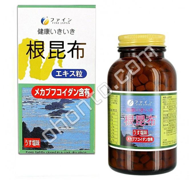 Fine Japan Экстракт корней бурых водорослей, 500 таблеток