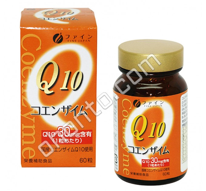 Fine Japan Коэнзим Q10 с витаминами, против старения