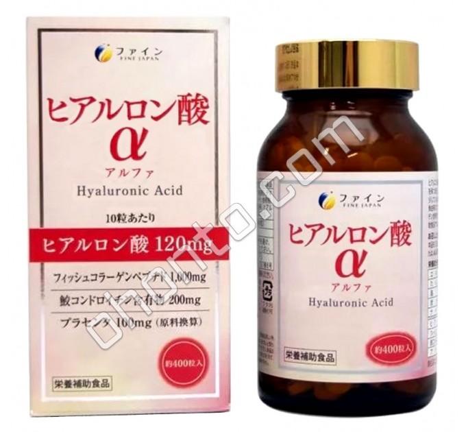 Fine Japan Гиалуроновая кислота Альфа, на 40 дней