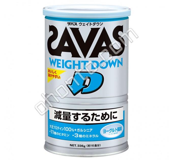 Meiji Протеин для снижения веса Savas Weight Down со вкусом йогурта, 16 порций