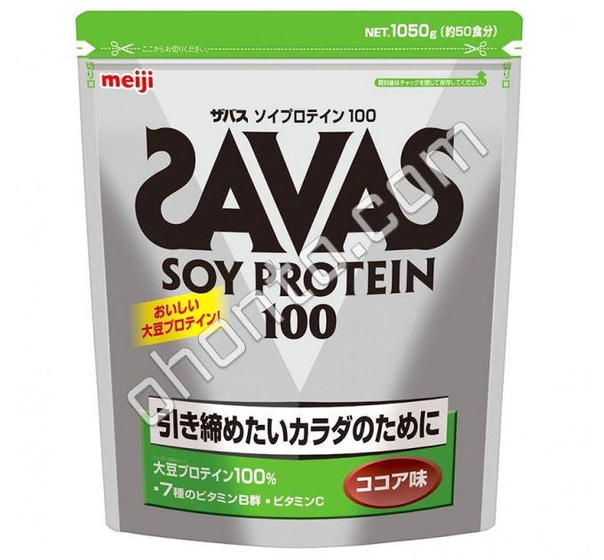 Meiji Savas Soy Protein протеиновый комплекс со вкусом какао, 50 порций