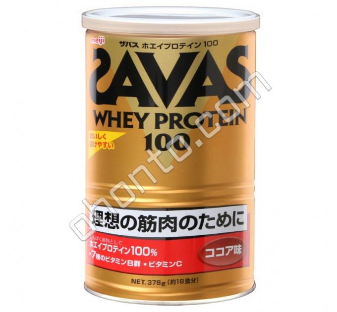 Meiji Whey Protein 100 Savas Сывороточный протеин со вкусом какао, 18 порций