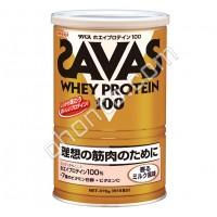 Meiji WHEY PROTEIN 100 (СЫВОРОТКА БЕЛКА) с молочным вкусом 18 порций (378гр.)