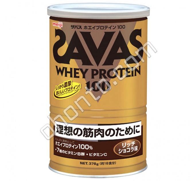 Meiji Whey Protein 100 Savas Сывороточный протеин со вкусом шоколада, 18 порций