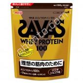 Meiji WHEY PROTEIN 100 (СЫВОРОТКА БЕЛКА) с насыщенным вкусом шоколада 50 порций (1050гр.)