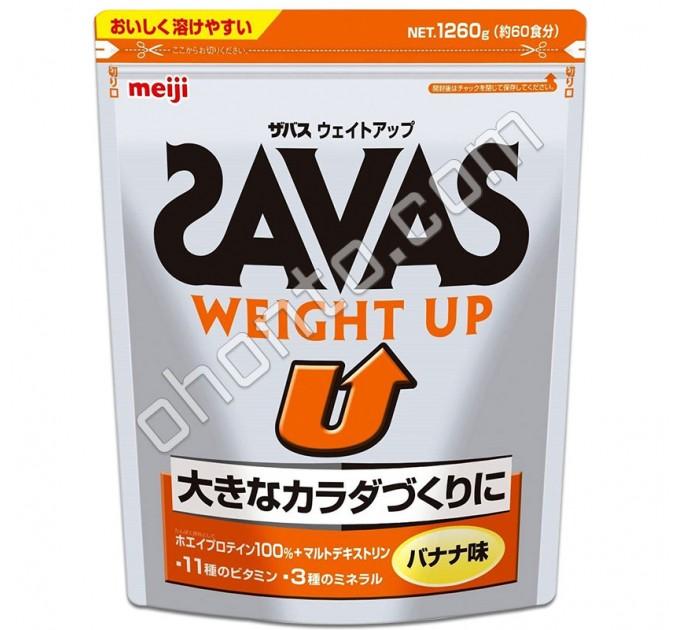 Meiji Протеин для мышечной массы Savas Weight UP с банановым вкусом 60 порций