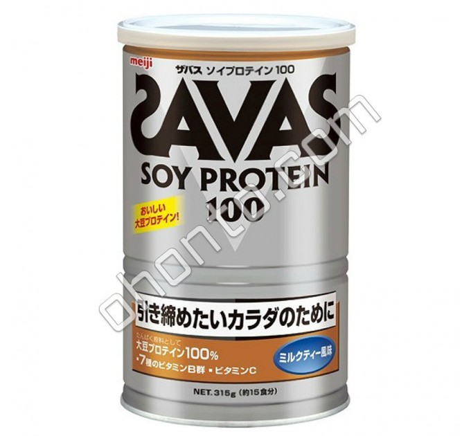 Meiji Соевый протеин с молочным вкусом для стройного, крепкого, подтянутого тела, 15 порций