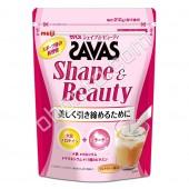Meiji Соевый Протеин + Коллаген вкус аромат чая с молоком 15 порций (210гр.) кальций, магний и 11 витамин