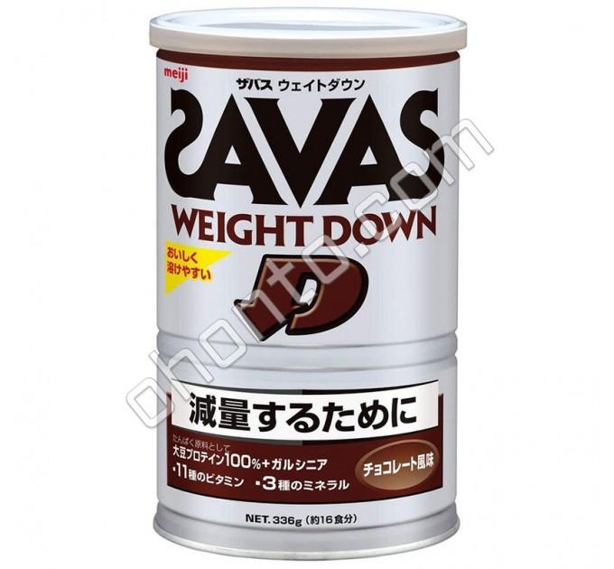 Meiji Протеин для снижения веса Savas Weight Down со вкусом шоколада, 16 порций
