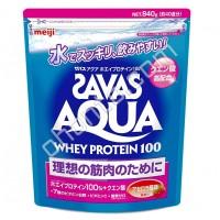 Meiji AQUA WHEY PROTEIN 100 (ЖИДКАЯ СЫВОРОТКА БЕЛКА) с ароматом ацеролы, 40 порций (870гр.)