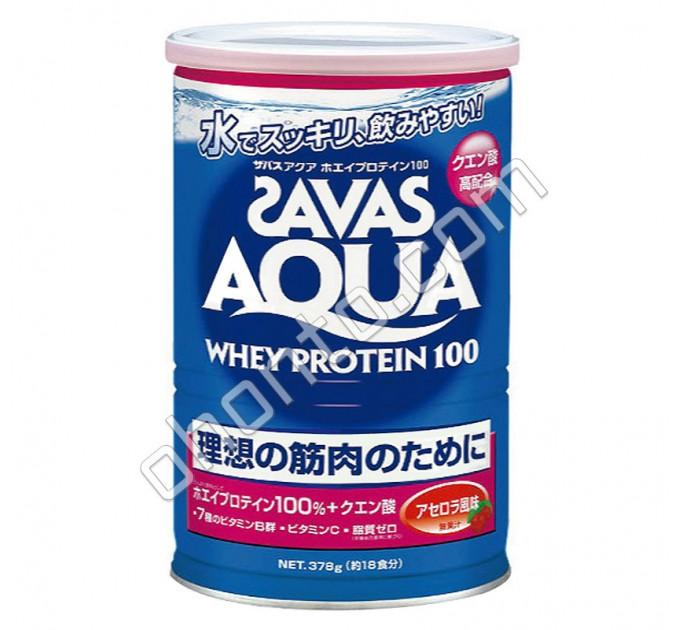Meiji Aqua Whey Protein 100 Savas Сывороточный протеин с ароматом ацеролы, 18 порций