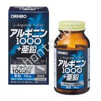 ORIHIRO Аргинин и цинк 120