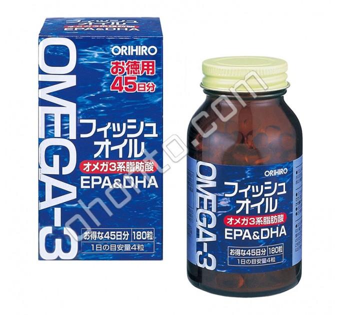 Orihiro Омега-3, на 45 дней
