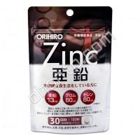 ORIHIRO Цинк, селен, хром (120 шт на 30 дней)