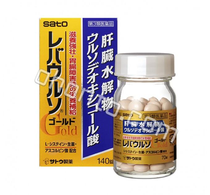 Sato Gold 140 для очищения, защиты и восстановления работы печени