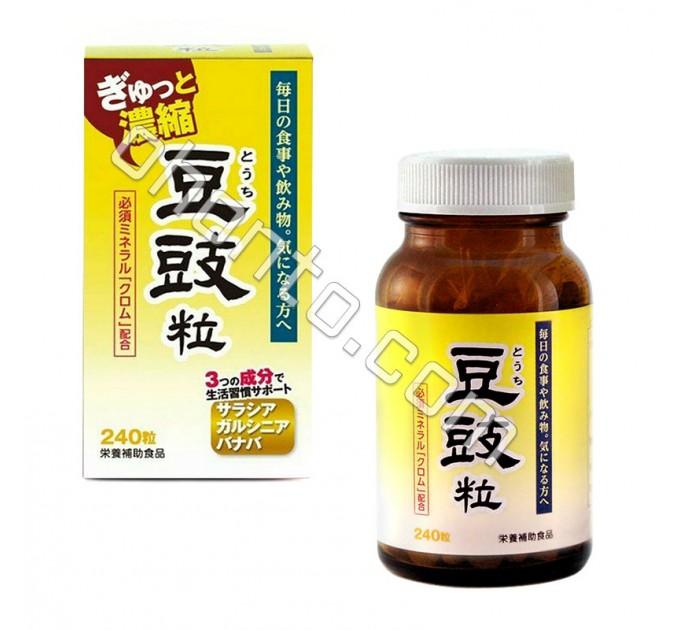 Экстракт Touti для нормализации уровня сахара в крови, обмена веществ, веса организма