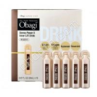 OBAGI Derma Power X Lift Drink — антивозрастная добавка с коллагеном, 20мл х 10шт