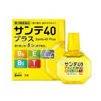 Santen Возрастные капли с витамином E, B6 и таурином Sante 40 Plus, 12мл