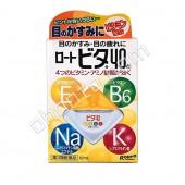 Rohto VITA 40 Капли для глаз с аминокислотами и витаминами Е, В6, 12мл