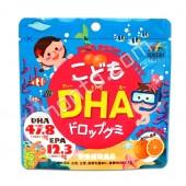 UNIMAT RIKEN Омега3 для детей со вкусом мандарина (90)