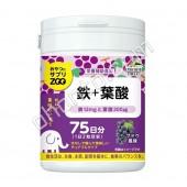 UNIMAT RIKEN ZOO Железо + фолиевая кислота на 75 дней (150)