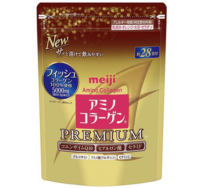 Meiji Амино Коллаген Premium для суставов и кожи в мягкой упаковке, 196 г